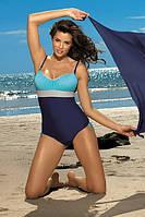 Изящный классический слитный купальник Whitney TM Marko (Польша) Цвет голубой