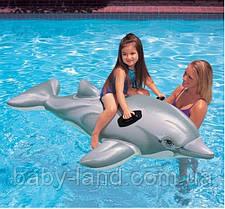 Плотик детский надувной Дельфин Intex 58535