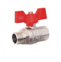Кран шаровый SD Forte 1/2'' БГШ вода
