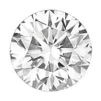 Бриллиант белый круг 3,5 мм. 0,14 карат
