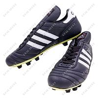 Бутсы (копы) мужские кожаные AD Copa Mandual FB180008 (верх-кожа, подошва-RB, черно-белые)
