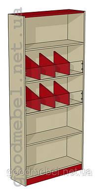Стеллаж (шкаф) с разделителями Ш-02