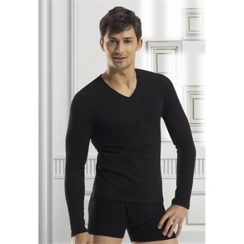 Чоловіча термо-кофта Doreanse Thermalwear 2985 чорна