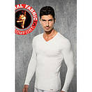 Чоловіча термо-кофта Doreanse Thermalwear 2985 чорна, фото 2