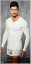 Чоловіча термо-кофта Doreanse Thermalwear 2985 чорна, фото 4