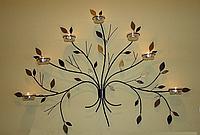 Подсвечник настенный «Дерево» на 7 свечей
