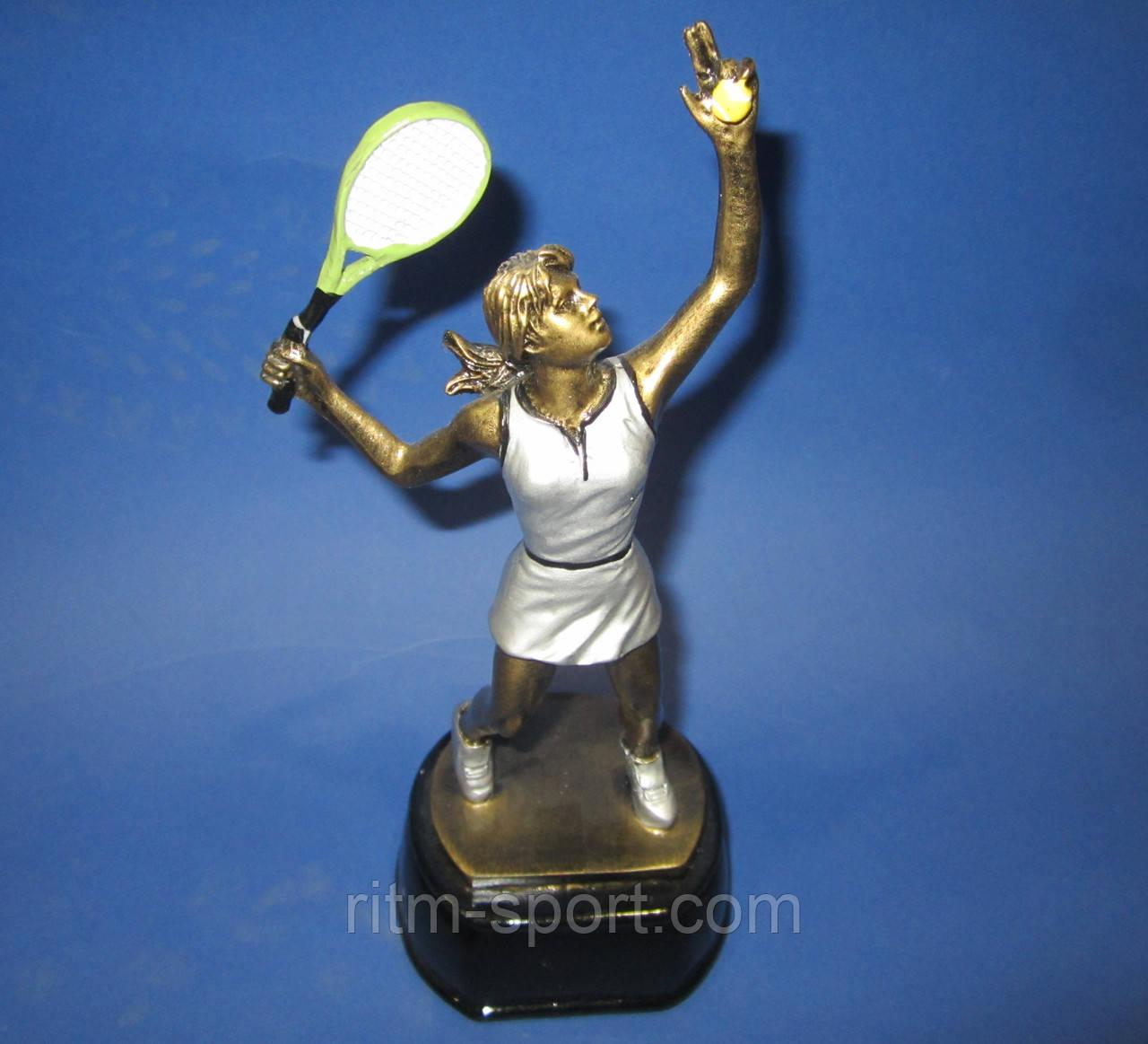 Великий теніс жіночий нагородна статуетка