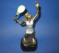 Большой теннис женский наградная статуэтка