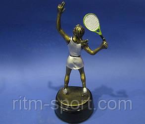 Великий теніс жіночий нагородна статуетка, фото 2