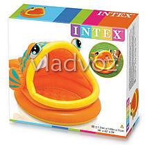 Детский надувной бассейн рыбка рыба Intex 57109, фото 3