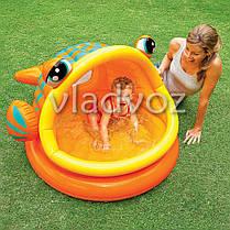 Детский надувной бассейн рыбка рыба Intex 57109, фото 2