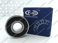 Підшипник F&D 6201RS (12х32х10 мм)