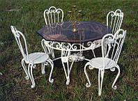 Кованый обеденный стол, фото 1
