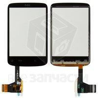 Тачскрин (сенсор) для мобильного телефона HTC A3333 Wildfire, с микросхемой