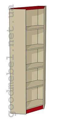Стеллаж (шкаф) угловой Ш-06