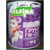 Краска эмалевая Ельфина грунт ГФ-021 светло-серій 2.8 кг