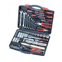 Набор инструментов, ключей, бит и насадок торцевых Sigma 6001041