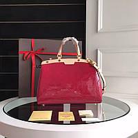 Женская сумка Louis Vuitton Brea красная, фото 1