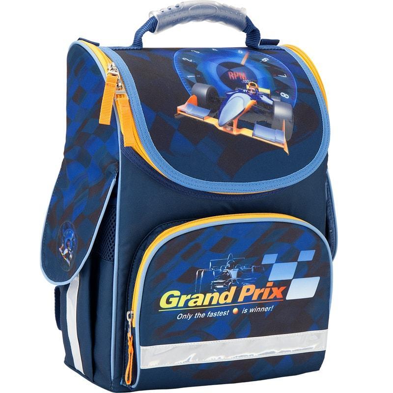 9fb7032d0439 Каркасный школьный Кайт рюкзак для мальчика 11 л ,Гоночная машина -  beri-dari в