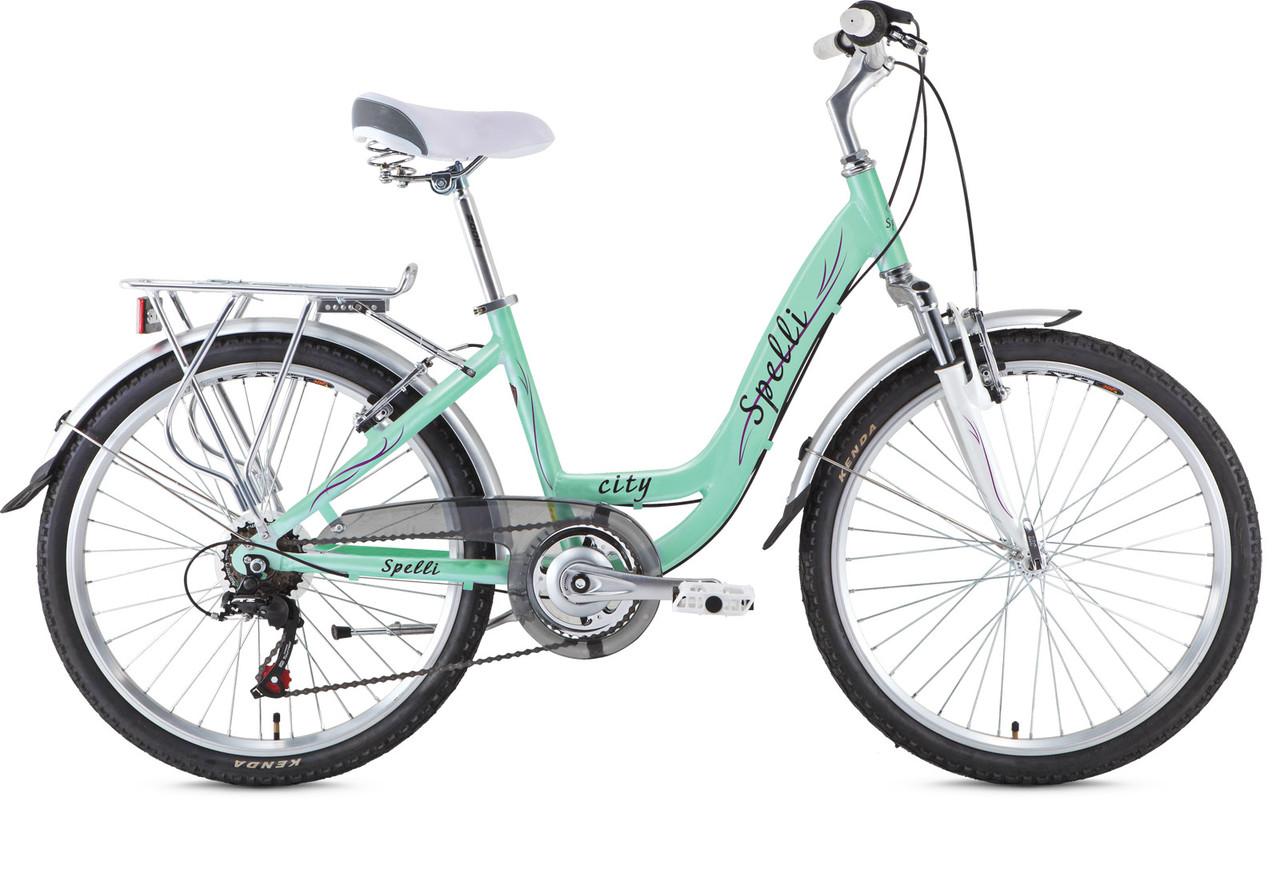 Велосипед 24 Spelli City 6 spd.
