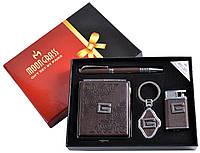 Подарочный набор 4 в 1: портсигар/брелок/ручка/зажигалка