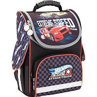Каркасный школьный Кайт  рюкзак для мальчика 11л,Хот вилс 3