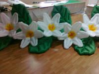"""Пневмоцветы для вашего торжества  """"нарциссы"""" 5м (ВИДЕО)"""
