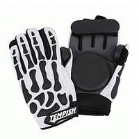 Спортивные перчатки для скейтбордистов, роллеров и велосипедистов со съемной защитой Tempish REAPER