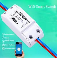 Беспроводной Wi-Fi выключатель, реле Sonoff