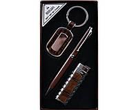 Подарочный набор 3 в 1: брелок/ручка/зажигалка