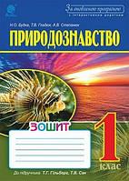 Природознавство Робочий зошит 1 клас (до підручника Гільберг Т.Г.) ОНОВЛЕНА