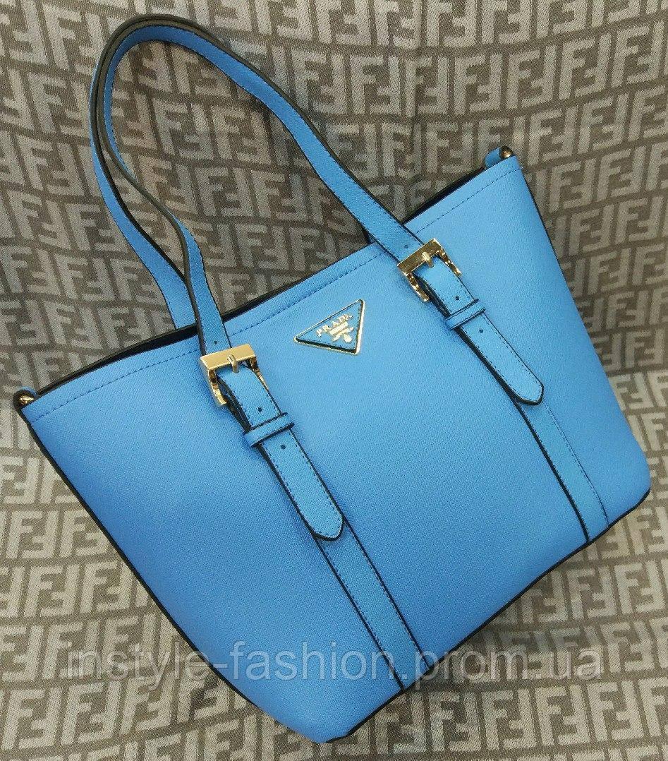 Сумка Prada Прада мини цвет синий