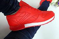 Женские кроссовки красные Венгрия