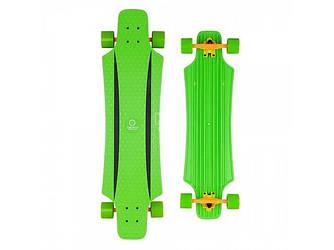 """Спортивный скейтборд-лонгборд для начинающих райдеров зелёный BUFFY/Green 36"""""""