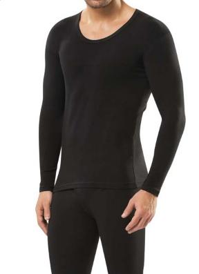 Мужская термо-футболка с длинным рукавом Doreanse Thermalwear 2965 черная
