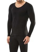 Мужская термо-футболка с длинным рукавом Doreanse Thermalwear 2965 черная, фото 1