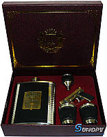 Подарочный набор Jeam Beam: фляга/лейка/стопки/зажигалка-пистолет