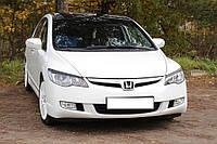 Реснички на фары, комплект 2 штуки, UA - Civic - Honda - 2006