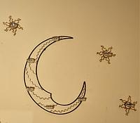 Настенный подсвечник «Лунное сияние»