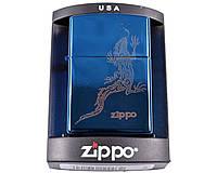Зажигалка фирменная, брендовая бензиновая Zippo №3991-6 + бензин в подарок 125мл.