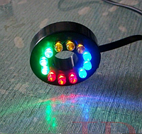 Светодиодная RGB подсветка для аквариумов, фонтанов, водоемов 12 LED 3 м, фото 1