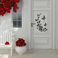 Наклейка виниловая Бабочки на умывальник, стену