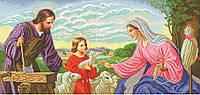 """Схема для вышивки бисером икона """"Свята родина"""" (тесля)"""