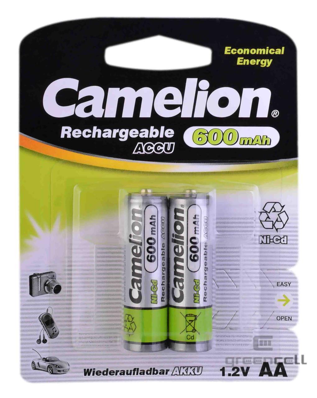 Аккумулятор Camelion R6 600 mAh Ni-Cd