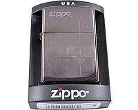 Зажигалка фирменная, брендовая бензиновая Zippo №3989-2. +подарок бензин очищеный 125мл.