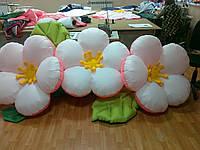 """Пневмоцветы для вашего торжества  """"персиковый цвет"""" 10м (ВИДЕО)"""