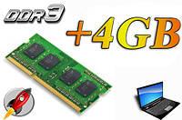 +4GB RAM DDR3 (Ноутбук)