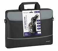 Сумка для ноутбука Targus Topload Case 15.6'' + мишка оптична в подарунок