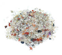 Камни для декора Кварц Микс (3-5 мм) 100 грамм