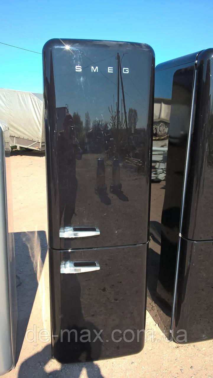Ексклюзивный холодильник в ретро стиле SMEG FAB32NE7 Черный А++ No Frost
